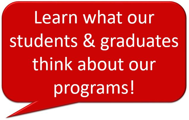 Learn what our students & graduates think about our programs!