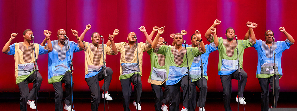 Ladysmith Black Mambazo, photo by Jeff Smith