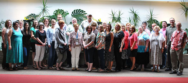 WKU Faculty members participated in the 2013 Preparatory Camp for Online Teaching.