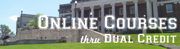 Online Courses thru Dual Credit