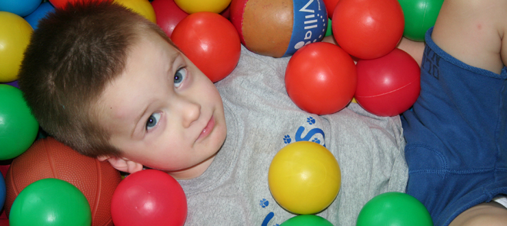 ball pit play