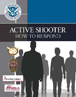 FEMA active shooter guide
