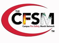 Campus Fire Safety Month Network logo