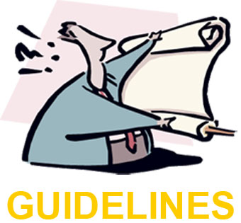 Guidelines Image cartoon