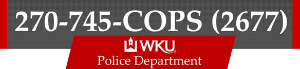 Phone Number to WKU PD