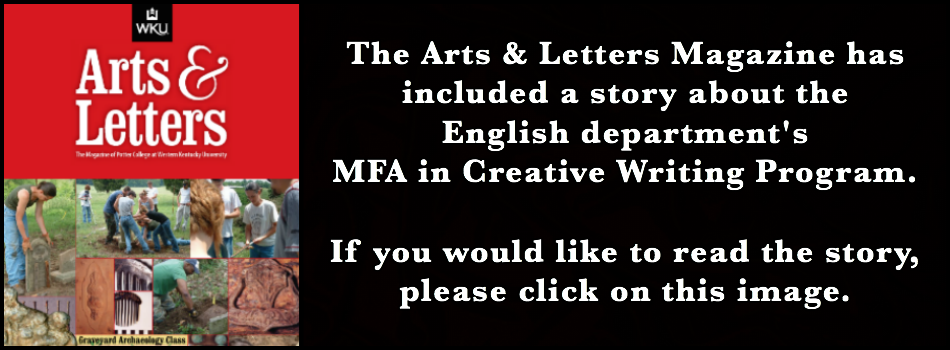 To read the story about the MFA in Creative Writing program, click on this image.