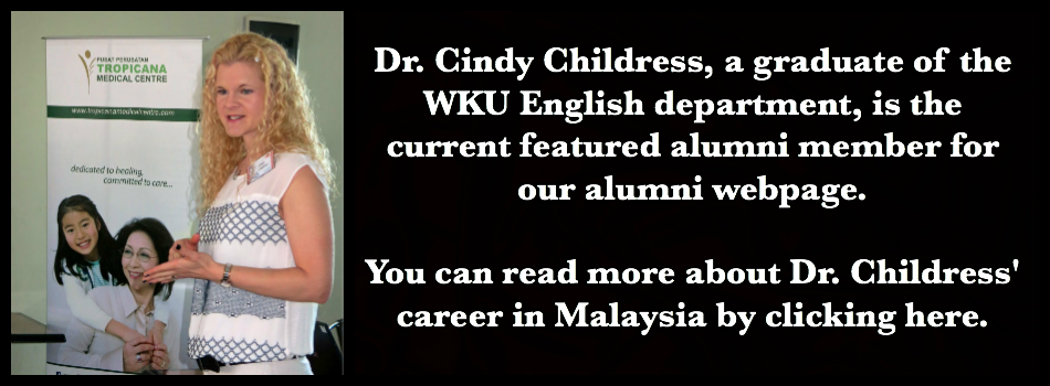 Click on this image to read the profile on Dr. Cindy Childress.