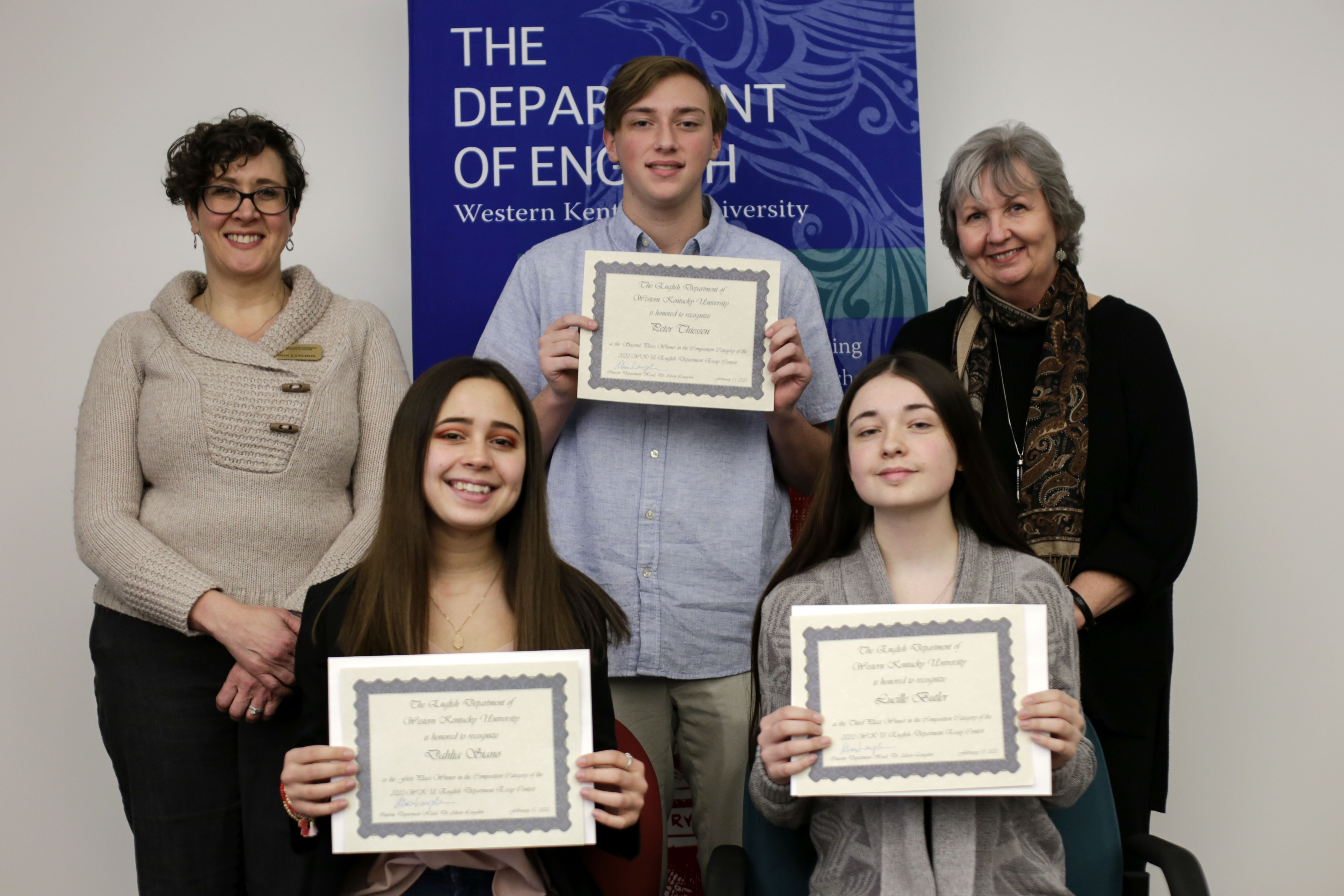 2020 Composition Essay winners