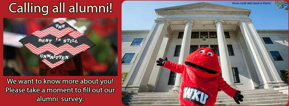 Click here to take the English department's alumni survey.