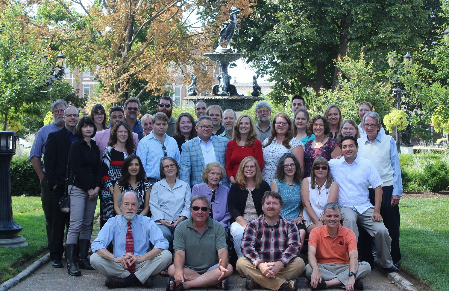 English Department Faculty, 2014