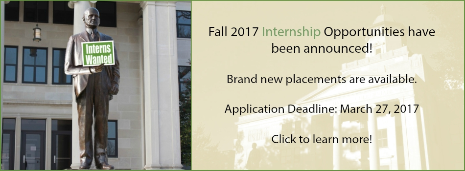 click for internship information