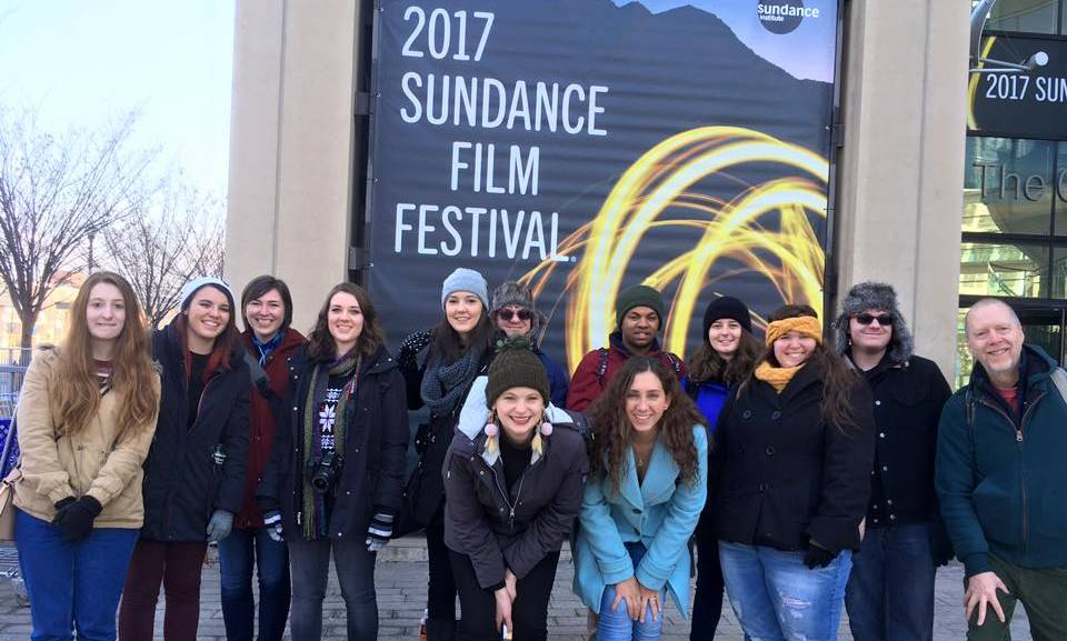 Hovet with Students at Sundance 2017
