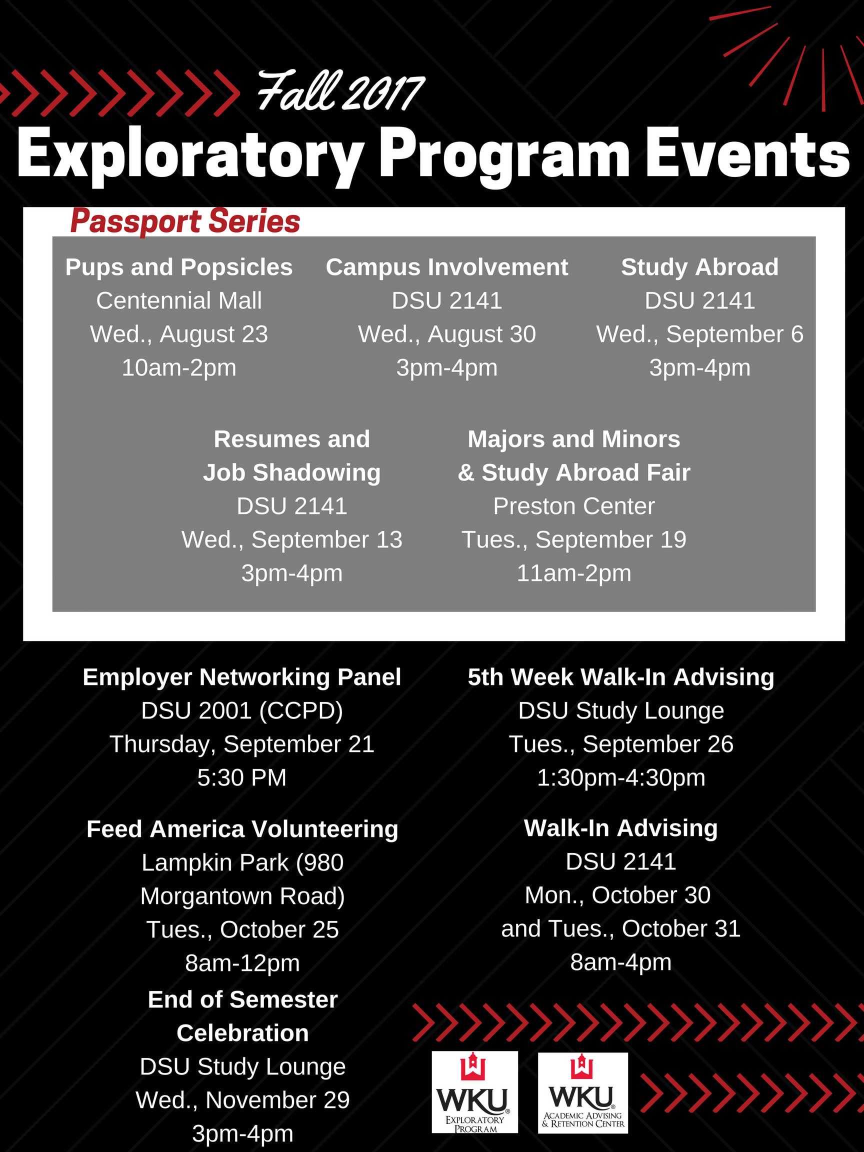 Fall 2017 Events