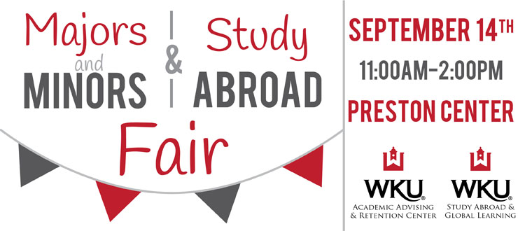2016 Majors and Minors & Study Abroad Fair