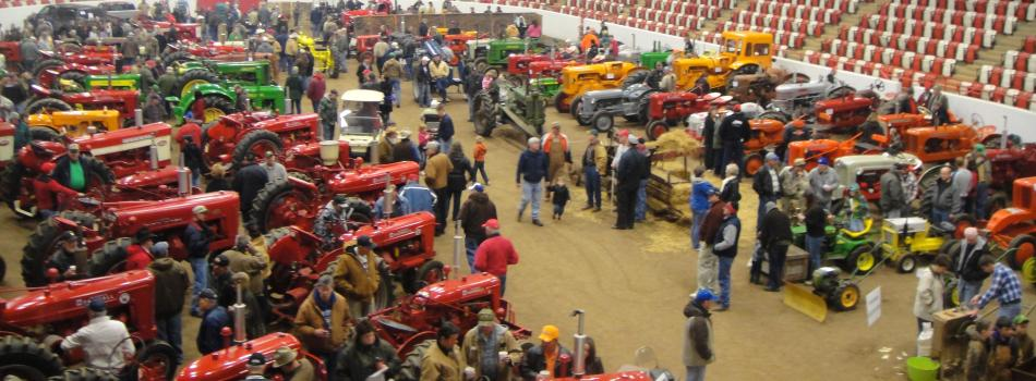 antique tractor show 2012