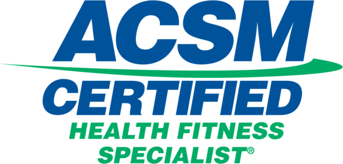 ACSM Helth fitness Specialist