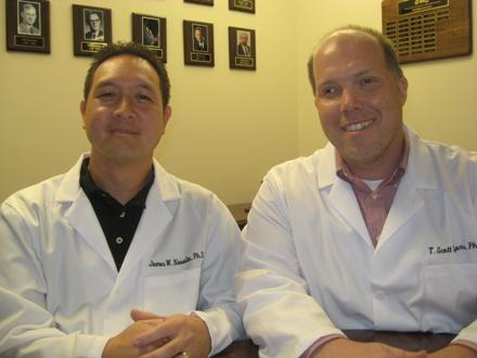 Dr. James Navalta and Dr. Scott Lyons