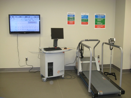 Quinton EKG and Treadmill
