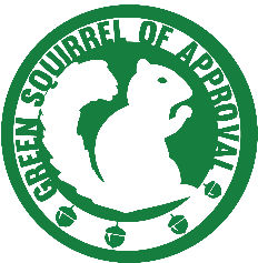 green squirrel approval