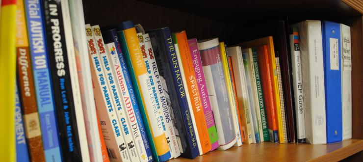 some of the books available for CEC families to check out