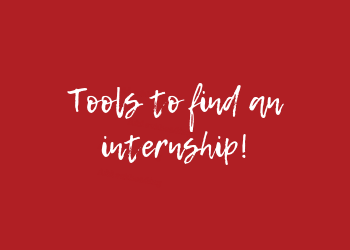 tools to find an internship