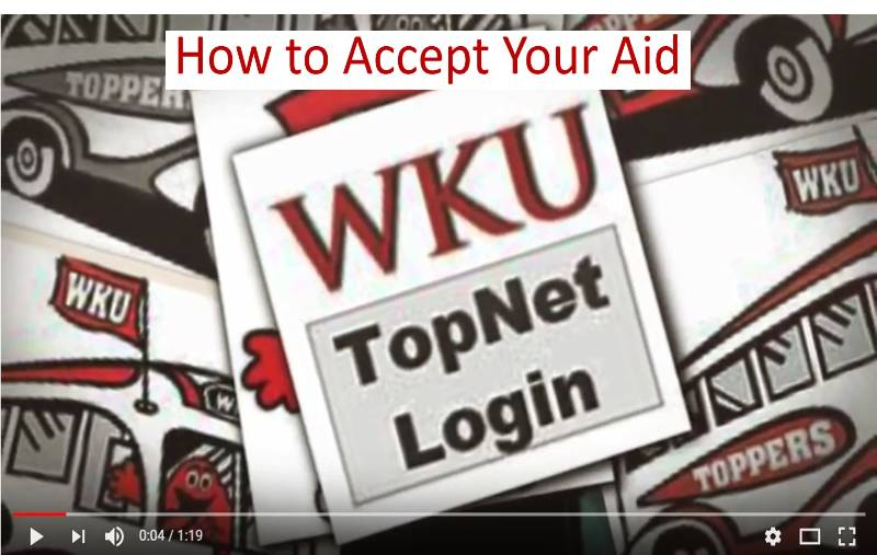 How to Accept Your Aid Video Preview