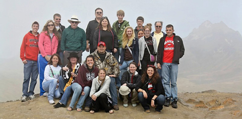 wku students in andes