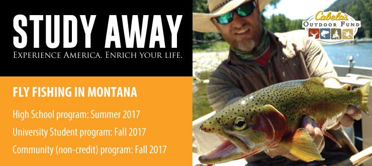 2017 Fly Fishing Programs: High School, University & Community