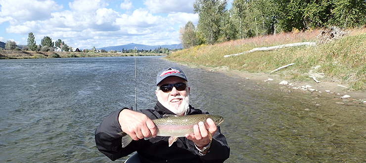 Basil - Fly Fishing Montana 2014
