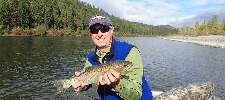 Dr. Poff - Fly Fishing Montana 2014