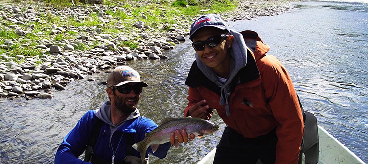 Quintin - Fly Fishing Montana 2014