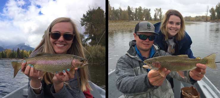 Emily & Taylor - Fly Fishing Montana 2016