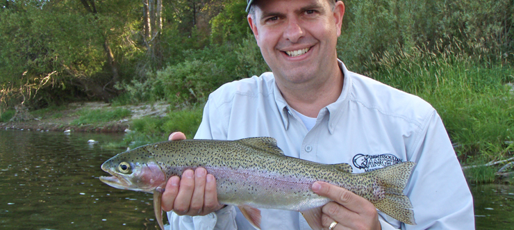 Rainbow Trout - Clark Fork River, Montana