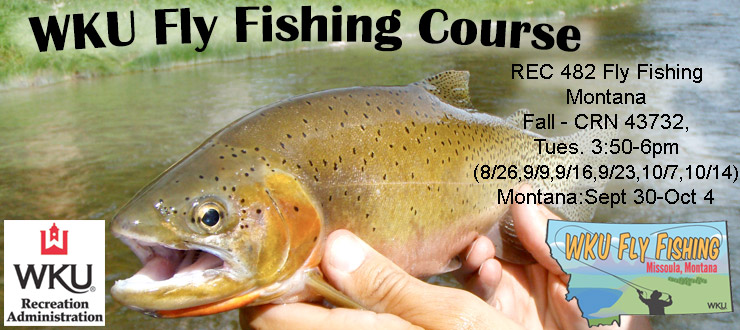 2014 Fly Fishing courses