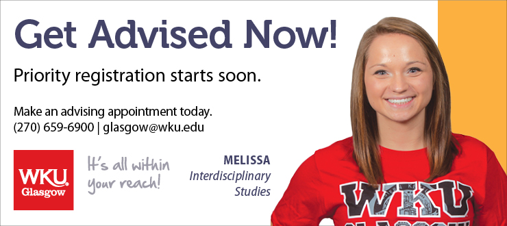 WKU, WKU Glasgow, Registration, Get Advised, Advisement