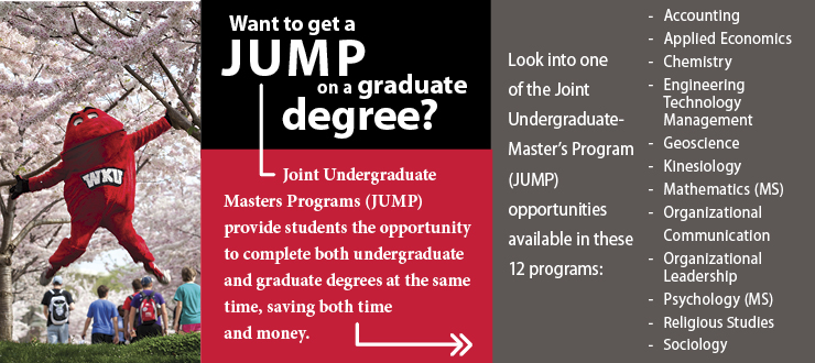 Joint Undergraduate-Master's Program (JUMP)