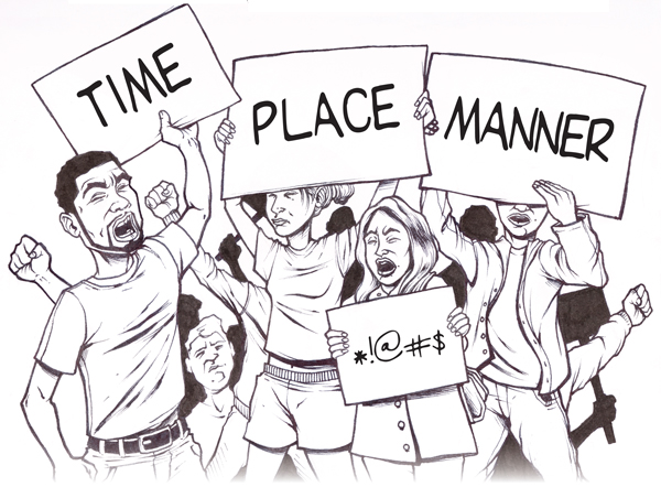 regulations for time place and manner