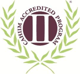 CAHIIM Accreditation Symbol