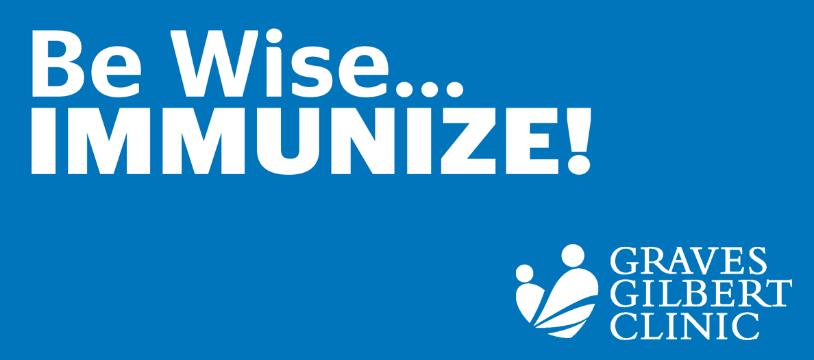 Be Wise Immunize; Flu shots are still available.  Please come get your vaccine at GGC@WKU