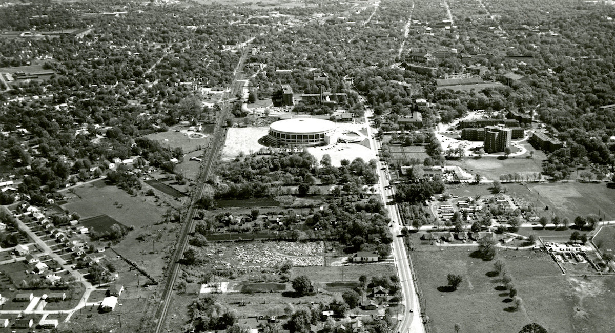 Diddle Arena and Jonesville, 1965