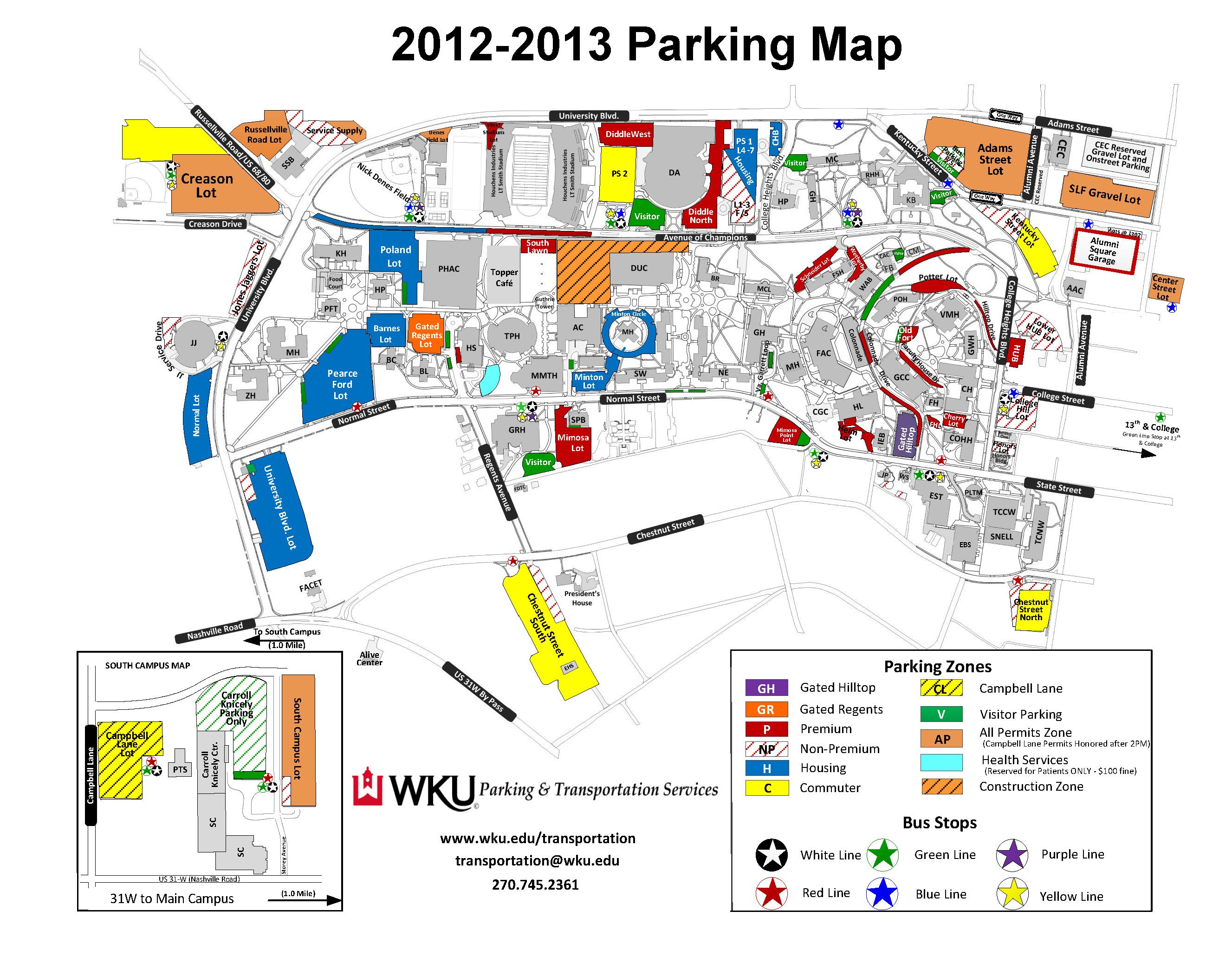 Wku Campus Map | World Map 07