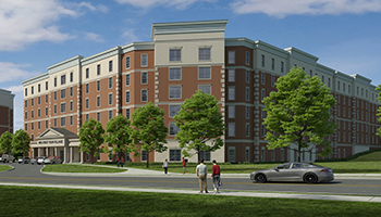Regents Hall Rendering
