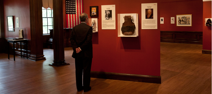 The Instruments of American Excellence Exhibit opened to the public on September 21.