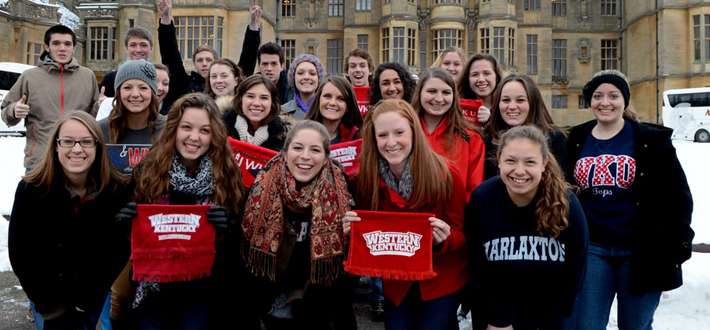 Harlaxton College has been named the #1 Study Abroad location by Best College Reviews. Since 2007, WKU has sent more than 400 WKU and Gatton Academy students to Harlaxton College in Grantham, England, as part of our partnership with the University of Evansville.  #hilltoptotheworld