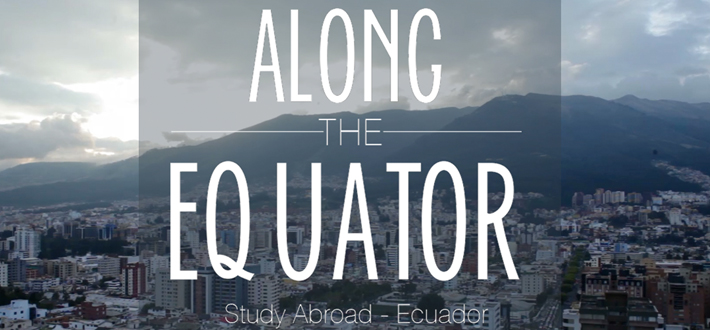 "Megan Tan (Photojournalism, WKU Class of 2014) presents a short film on her semester-long experience studying abroad in Ecuador. ""Along the Equator""  provides a glimpse of the diverse people and environment that make up Ecuador to be explored through the International Year Of… Program kicking off in the Fall of 2014."