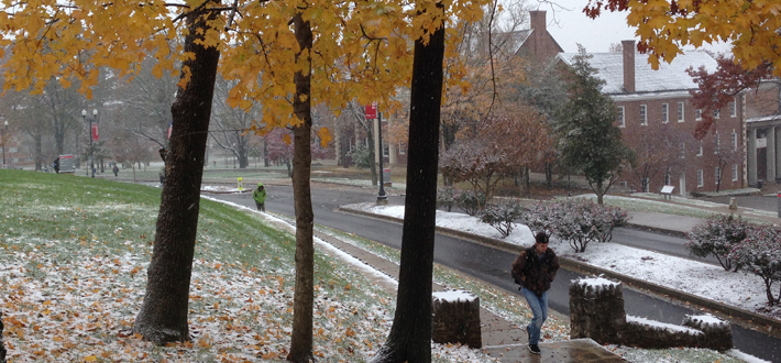 Fall Snow at WKU