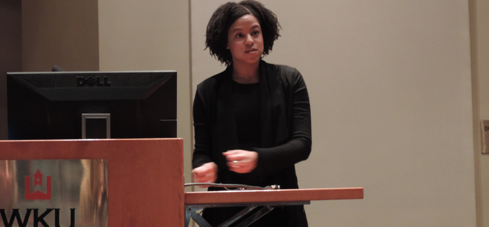 "As part of Sustainability Day (October 22), Natalia Allen spoke about sustainable clothes in her talk ""Are Clothes Modern? Fashion With a Conscience."""