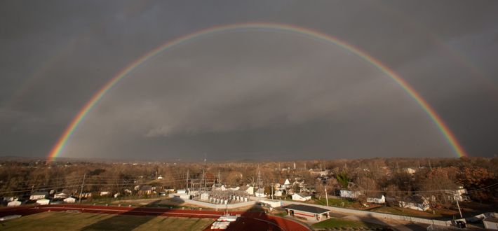 Fall Rainbow at WKU