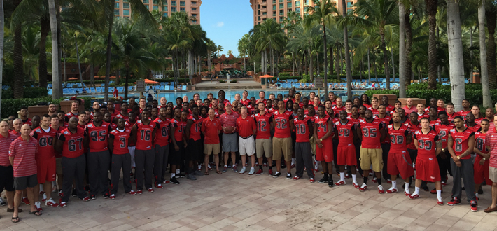 The WKU Hilltoppers Football team participated in the 2014 Popeye's Bahamas Bowl on December 24th. #GoTops
