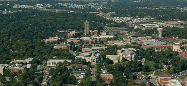 WKU aerial image of campus